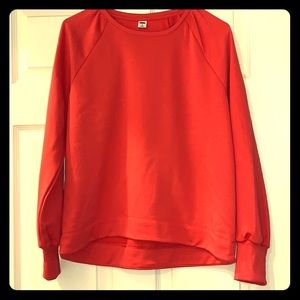 Puff sleeve old navy sweatshirt with tags